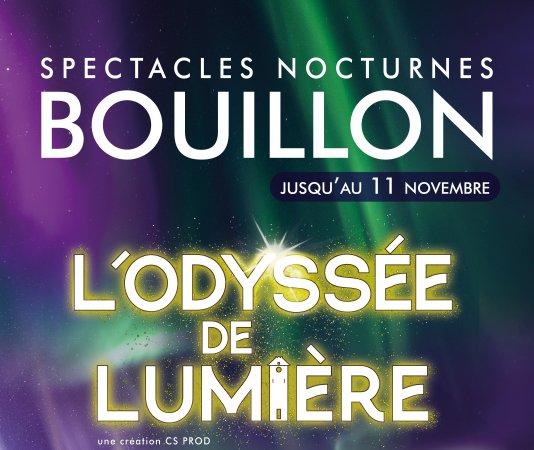 L'Odyssée de lumière : Un voyage inoubliable dans Bouillon