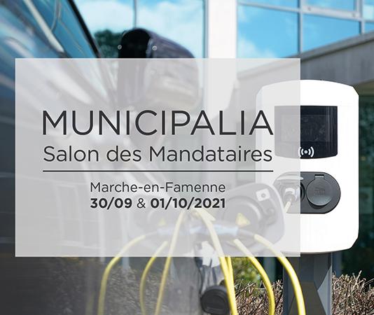 Rejoignez-nous au Salon Municipalia, le salon des mandataires
